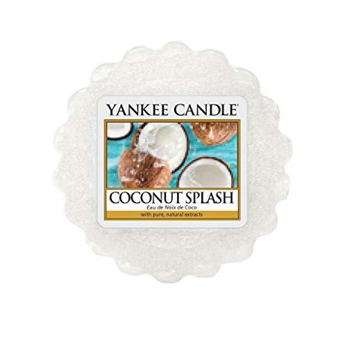 YANKEE CANDLE Tart di Fondere, Rinfresco di Cocco, 22 G, 5.6 x 1.5 cm