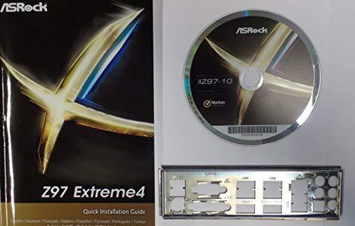 ASRock Z97 Extreme4 - Handbuch - Blende - Treiber CD