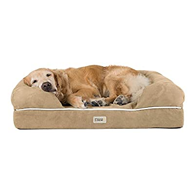 """Friends Forever Premium Orthopedic Memory Foam Dog Bed Extra Large 