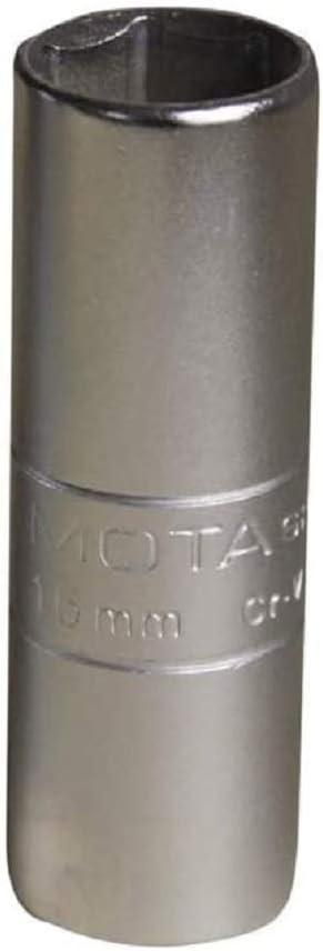 Mota Tools Manufacturer OFFicial shop 39196 Spark Plug Socket 1 Ranking TOP5 2 mm Inch Silver 16