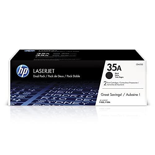 HP 35A | CB435D | 2 Toner-Cartridges | Black