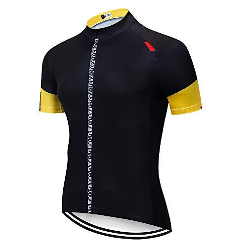 Maillot de Vélo Homme Vêtements VTT Manche Courte Tée Shirt Cycliste Été Vetement de Velo Route