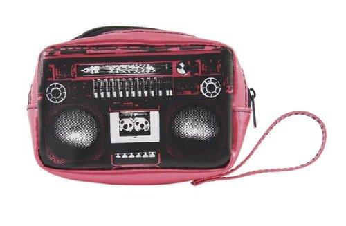 Ghettoblaster Geldbeutel Pink - Geldbeutel