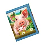 3D LiveLife Wallets - Pig Pen. Lenticular 3D artwork brought to you by Deluxebase, licensed from renowned artist Michael Searle.