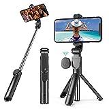 Palo Selfie, Palo Selfie Trípode para movil Extensible con Control Remoto para iPhone/Android, Soporte para Videos, Vlogs, Directos, Facetime