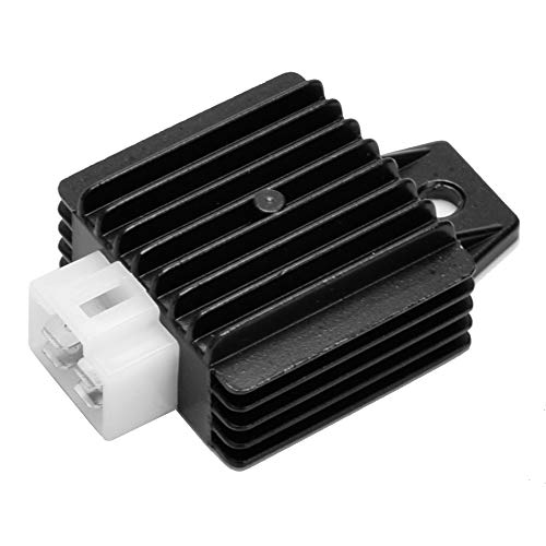 HIAORS 4 Pin Voltage Regulator Rectifier for GY6 Engine 50cc 125cc 150cc Chinese Moped Scooter ATV Parts
