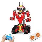 SIWEI Programmierbares Roboterspielzeug Ferngesteuerte Roboter für Kinder 2. 4G Drahtlose Mobile App Dual-Modus-Fernbedienung Puzzle-Baugruppe