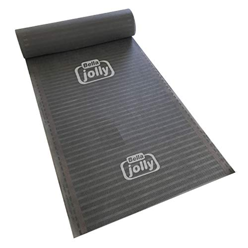 Jollytherm Folienheizung Top-Therm Basic | Fußbodenerwärmung für Laminat Parkett Venyl, Folienlänge & Fläche:3.5m / 1.75m²