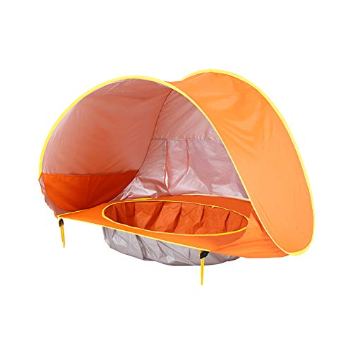 Kids Play Tent - Pop Up Outdoor Indoor Play Tenten Folding Baby Beach Tent Met Opbergtas En Pool Voor Boy And Girls,B