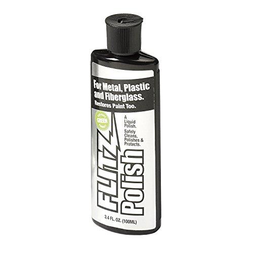 Flitz Abrillantador líquido para metal, limpiador universal, cuidado de metal, 100 ml