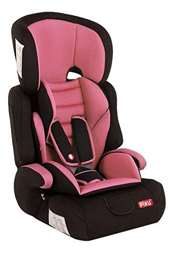 Piku NI20.6072, Silla de coche grupo 1/2/3, rosa claro