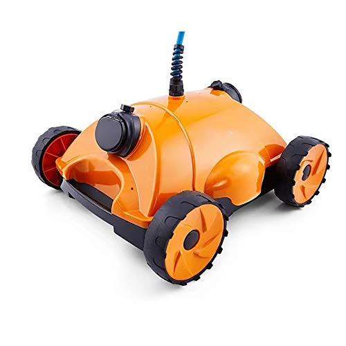 FJPAIPP Automatische Pool-Reinigungs-Roboter (Boden und Wände) Accurate Navigationssystem,Filter