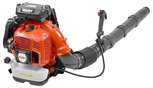 Hecht starker Laubbläser Rückentragbar (extra langes Blasrohr) Benzin-Laubpuster Leaf Blower für Laub Beseitigung Rücken-Laubgebläse (4,2 PS starker 2-Takt Motor | 75,6 CCM)