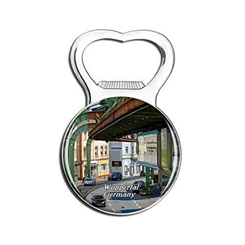Weekino Wuppertal Suspension Railway Deutschland Bier Flaschenöffner Kühlschrank Magnet Metall Souvenir Reise Gift