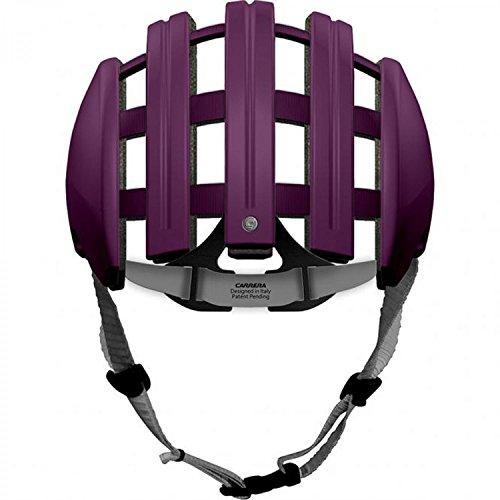 Carrera Herren Fahrradhelm FOLDABLE_C purple