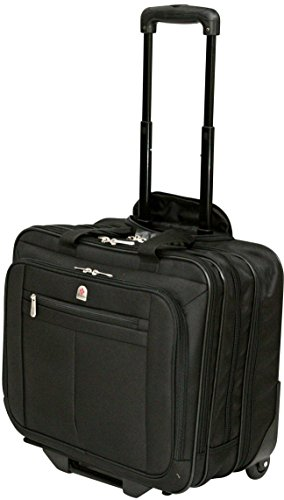 Lombard Executive Wheeled Pilot Case - Extending Retractable Twin Handles