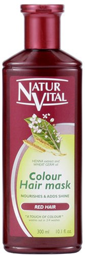 NATUR VITAL | Hair Coloring Treatment | Hair Mask N Red for Gray Hair 300ml (Japan Import)