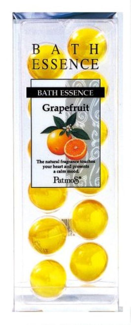 今後方言分数パトモス バスエッセンス 12P グレープフルーツ