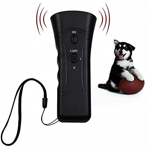 Xtreameasy Anti Bark Dog Training Device, Dog Bark Deterrent Device, Portable Dog Behavior Trainer and Corrector, Electronic Walking Trainer,...