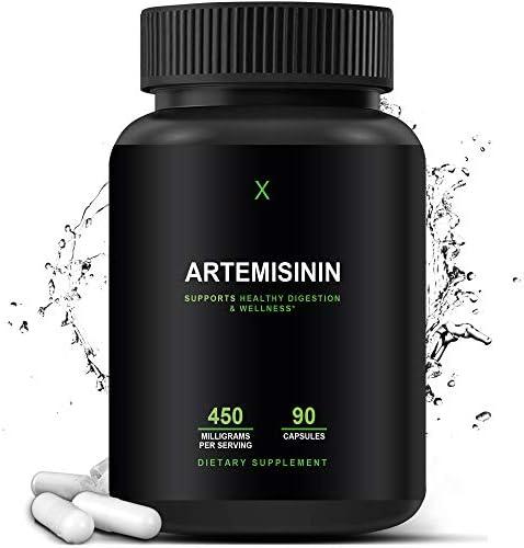 Artemisinin 450 mg Artemisia Annua Sweet Wormwood Extract Artemisinin Capsules Support Healthy product image