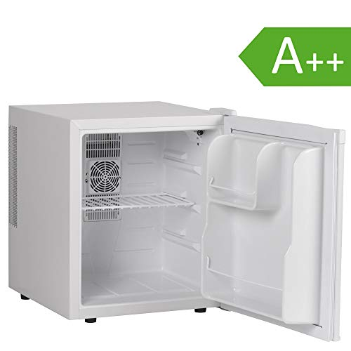 FineBuy Mini Kühlschrank Weiß/Minibar/Getränkekühlschrank 5° bis 15°C 46 Liter