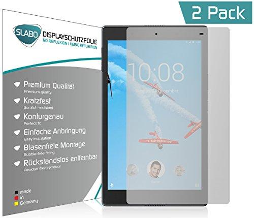 Slabo 2 x Bildschirmschutzfolie für Lenovo Tab4 8 Plus Bildschirmschutz Schutzfolie Folie No Reflexion | Keine Reflektion MATT