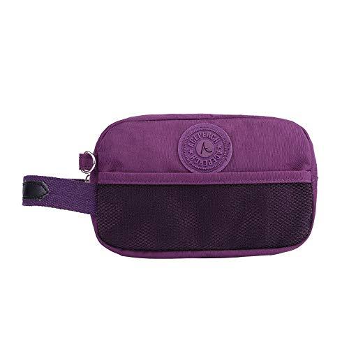 Nylon Fermeture Éclair Cosmétique Sac Femmes Maquillage Sac Dames Cosmétiques Organisateur Pliant Voyage Make Up Bag Beauté Wash Kit Sacs J