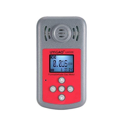 BXU-BG Digital-Formaldehyd-Detektor Gas Tester Analyzer-Monitor Messwerkzeug 0-5ppm Air Quality Monitor UA506
