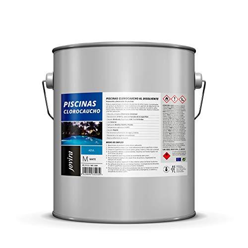 PINTURA PISCINAS AL DISOLVENTE, Anti algas, Protección y decoración de piscinas. 4 L (BLANCO)
