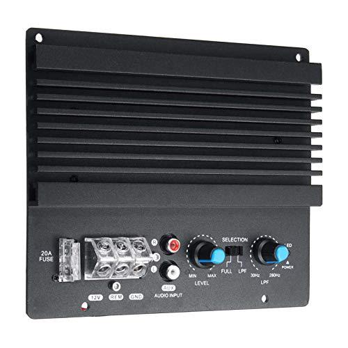 Festnight Amplificador de Audio de Coche de Gran Potencia de 12 voltios, Potente subwoofer de Graves, Placa amplificadora, módulo Amplificador automotriz