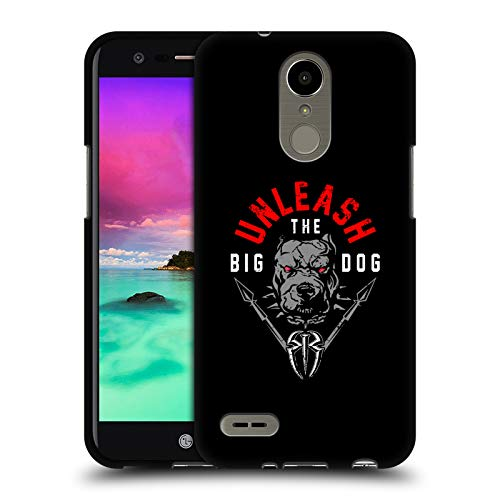 Head Case Designs Officially Licensed by WWE Roman Reigns Unleash The Big Dog 2018/19 Superstars 4 Black Soft Gel Case Compatible with LG K8 (2017) / M200N