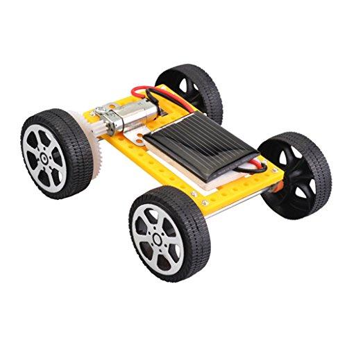 Sharplace Jouet éducatif Kids Science Bricolage Solaire Batterie Powered Assemble Toy Car - #2