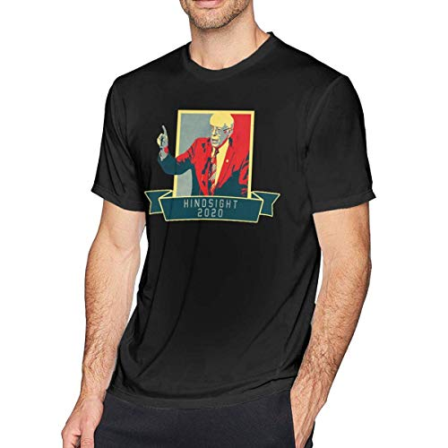 qianfengdamaoyi Bernie Sanders Revolution Mens T-Shirt Black M