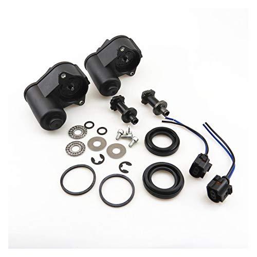 SSGLOVELIN 12 Zähne Hinterradbremsmotor & Lagerschraube Kit + Kabel Pigtail Stecker 32332267 Fit für Q3 VW Tiguan Passat B6 B7 Sitz Alhambra (Color Name : 2 Set)
