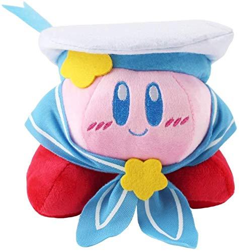 siyat 12cm Kirby Plüsch Toy Marine Navy Soldat Kirby Popopo Seemann mit Hutkappe Weiche Gefüllte Puppen Jikasifa