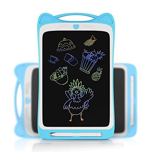 JONZOO tableta de escritura LCD tablero de dibujo electrónico de 12 pulgadas, tablero de dibujo para niños, bloc de notas digital con...