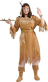 Forum Novelties Women's Native American Indian Maid Plus Size Costume