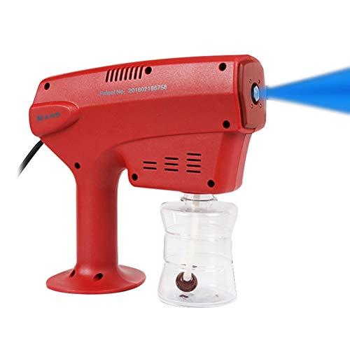 XIYAN Elektrischer Nano-Zerstäuber, 1200W 260ml Tragbare Blau Desinfektion Sprayer, Geeignet für Innen- und Außen Familie Autos und Kosmetikstudios