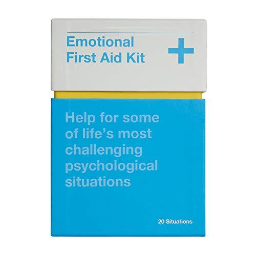 EMOTIONAL FIRST AID KIT | KARTENSET für weise Notfallberatung in 20 psychologische Schlüsselsituationen | Englische Edition | The School of Life
