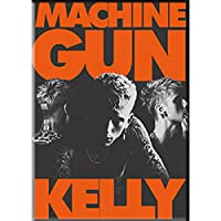 "MACHINE GUN KELLY ORANGE LETTERS FRIDGE MAGNET - Decorative Exclusive Artwork Refrigerator Fridge Magnet - 2.5"" x 3.5"""