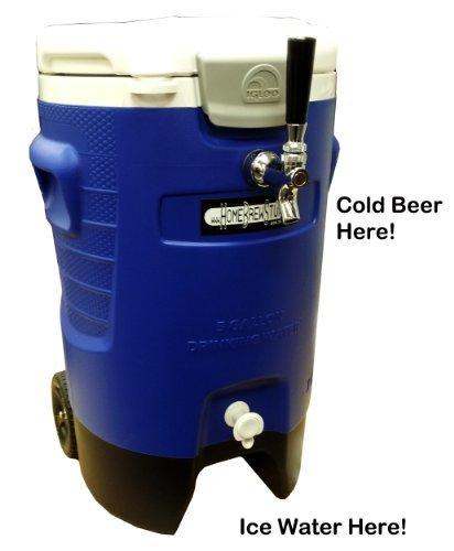 Single Tap Draft Beer Jockey Box