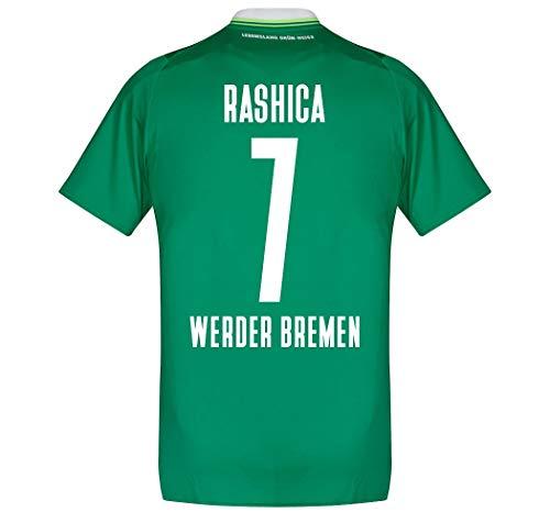 Umbro Werder Bremen Home Rashica 7 Trikot 2019-2020 (Fan Style Beflockung) - S