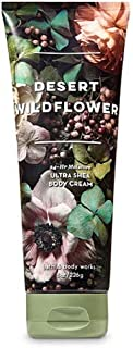 Bath and Body Works Desert Wildflower Ultra Shea Body Cream 8 Ounce