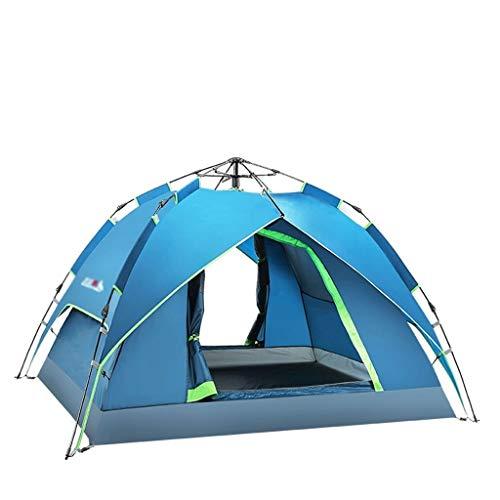 SSG Home Utilisation Multiple Sports de Plein air Tente Camping épais Pluie Automatique Sunscreen Vitesse Ouverte Extérieur Intérieur Tente Pliante Coupe-Vent Respirant Équipement d'extérieur