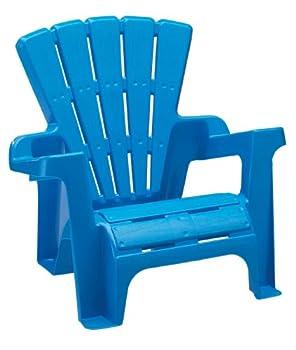 American Plastic Toys Kids Blue Adirondack Chair 6-Pack
