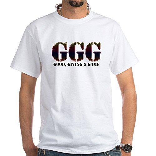 CafePress GGG White T Shirt 100% Cotton T-Shirt, White