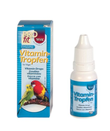 Trixie 5031 Vitamintropfen, Vögel, 15 ml