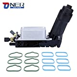 Engine Oil Cooler and Oil Filter Housing Adapter Assembly,Compatible With 2011-2013 Chrysler...