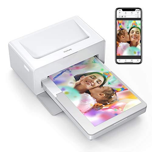 Victure Photo Printer Fotodrucker(Nur Maschine), Sofortbilddrucker zum Drucken (4 x 6) Zoll Fotos von Ihrem Telefon Bequem, kompatibel mit iOS- und Android-Geräten