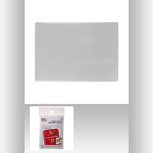 les colis noirs lcn Set de 3 Cadre Photo Magnetique 13 x 18 - Déco Maison Frigo - 517